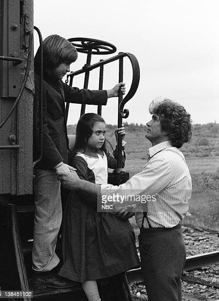 PRAIRIE The Lost Ones Part 1 Episode 21 Aired 5/4/81 Pictured Jason Bateman as James Cooper Ingalls Missy Francis as Cassandra Cooper Ingalls Michael...