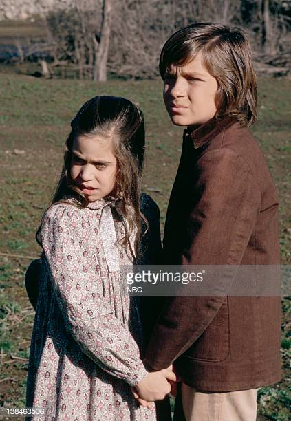 PRAIRIE The Lost Ones Part 2 Episode 22 Airdate 5/11/81 Pictured Missy Francis as Cassandra Cooper Ingalls Jason Bateman as James Cooper Ingalls