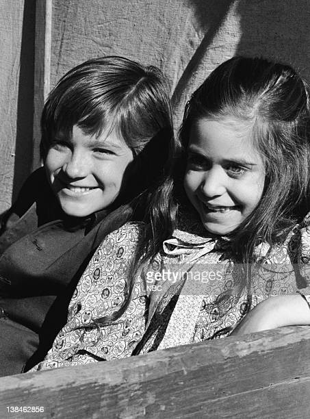 PRAIRIE The Lost Ones Part 2 Episode 22 Aired 5/11/81 Pictured Jason Bateman as James Cooper Ingalls Missy Francis as Cassandra Cooper Ingalls