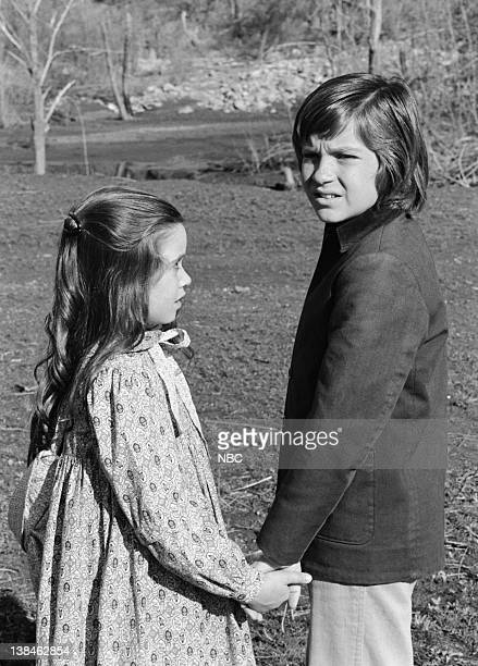 PRAIRIE The Lost Ones Part 2 Episode 22 Aired 5/11/81 Pictured Missy Francis as Cassandra Cooper Ingalls Jason Bateman as James Cooper Ingalls