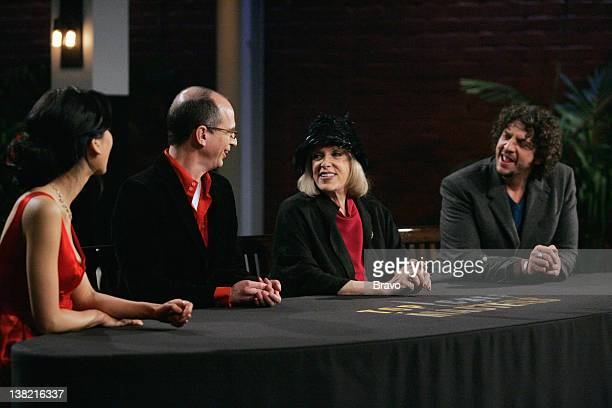 MASTERS 'The Lost Supper' Episode 2 Air date Pictured Host Kelly Choi judges James Oseland Gael Greene Jay Rayner