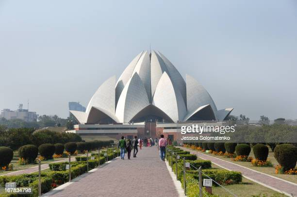 CONTENT] The Lotus Temple Bahá'í House of Worship in New Delhi