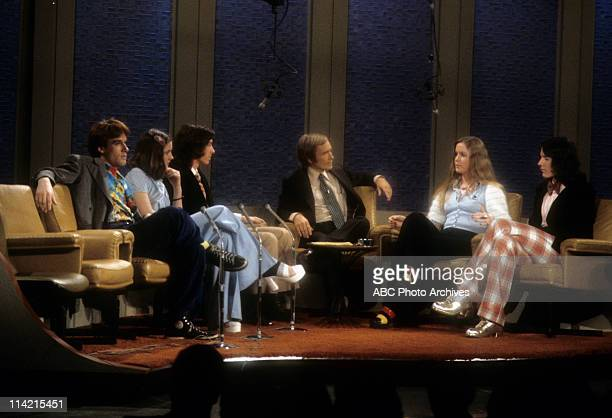SHOW The Loud Family of the PBS Documentary TV Series 'An American Family' Shoot Date February 6 1973 DICK CAVETT WITH THE LOUD CHILDREN LANCE