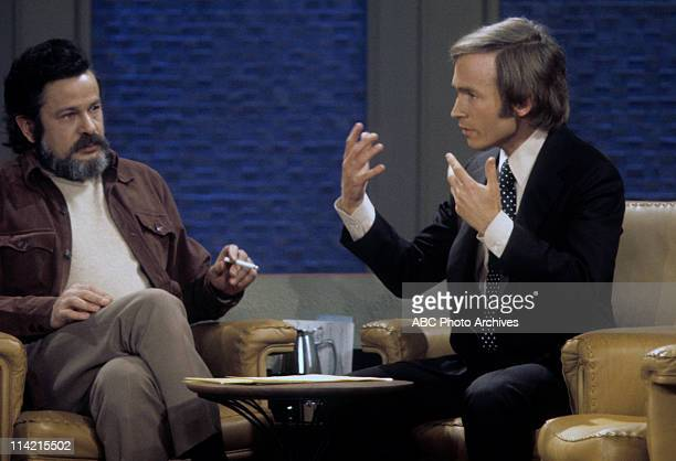 SHOW The Loud Family of the PBS Documentary TV Series 'An American Family' Shoot Date February 6 1973 DICK CAVETT WITH CRAIG GILBERT PRODUCER OF 'AN...