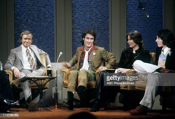 SHOW The Loud Family of the PBS Documentary TV Series 'An American Family' Airdate April 4 1974 DICK CAVETT WITH THE LOUD FAMILY CHILDREN LANCE