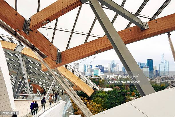 The Louis Vuitton Foundation the first privately funded major cultural institution in France was designed by the architect Frank Gehry and is located...