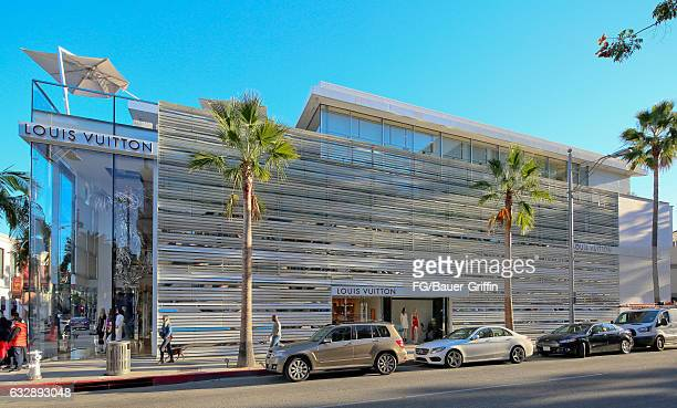 The Louis Vuitton Store on January 28 2017 in Beverly Hills California