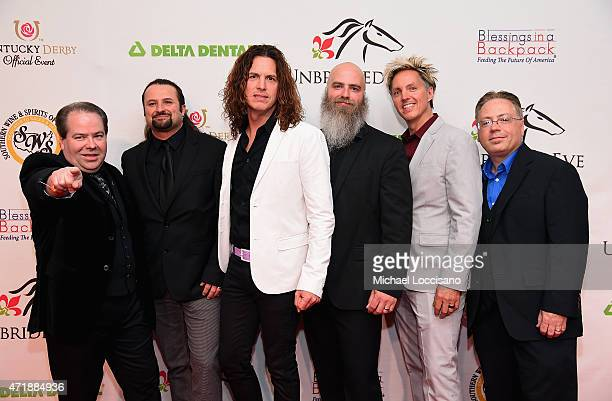 The Louisville Crashers attend the 141st Kentucky Derby Unbridled Eve Gala at Galt House Hotel Suites on May 1 2015 in Louisville Kentucky
