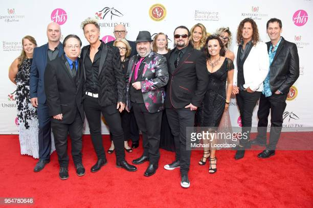 The Louisville Crashers attends the Unbridled Eve Gala during the 144th Kentucky Derby at Galt House Hotel Suites on May 4 2018 in Louisville Kentucky