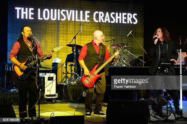 The Louisville Crashers perform onstage during the Unbridled Eve Gala during the 142nd Kentucky Derby on May 6 2016 in Louisville Kentucky