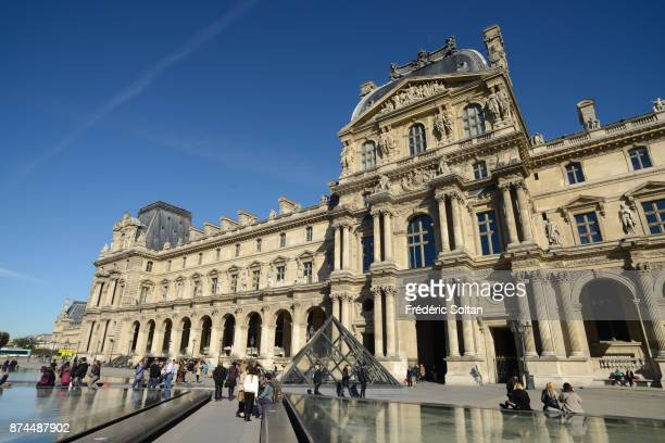 The Louvre Palace in Paris on September 20, 2015 in Paris, France.