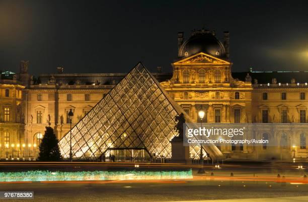 The Louvre pyramid. Paris, France. Architect: I.M Pei., France.