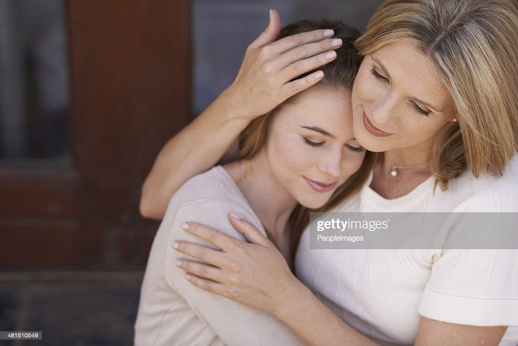 The love and affection of a mother : Stock Photo