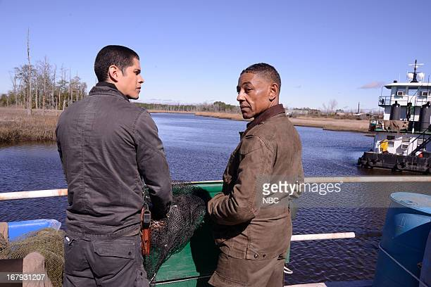 REVOLUTION The Love Boat Episode 116 Pictured JD Pardo as Nate Giancarlo Esposito as Captain Tom Neville