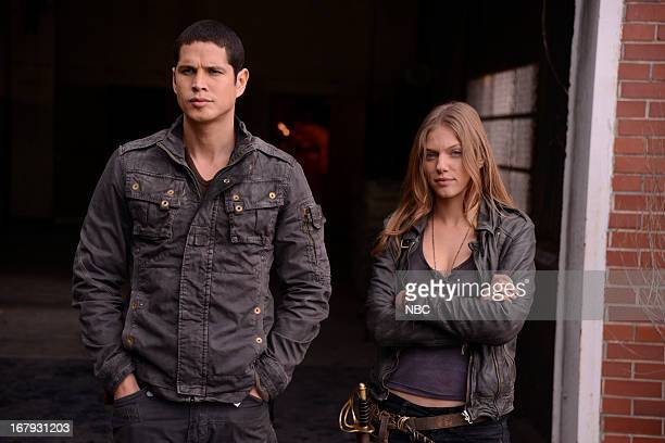 REVOLUTION The Love Boat Episode 116 Pictured JD Pardo as Nate Tracy Spiridakos as Charlie Matheson