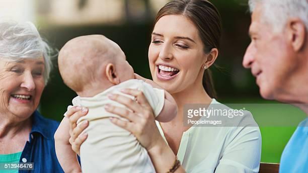 L'amour de la famille, de la vie