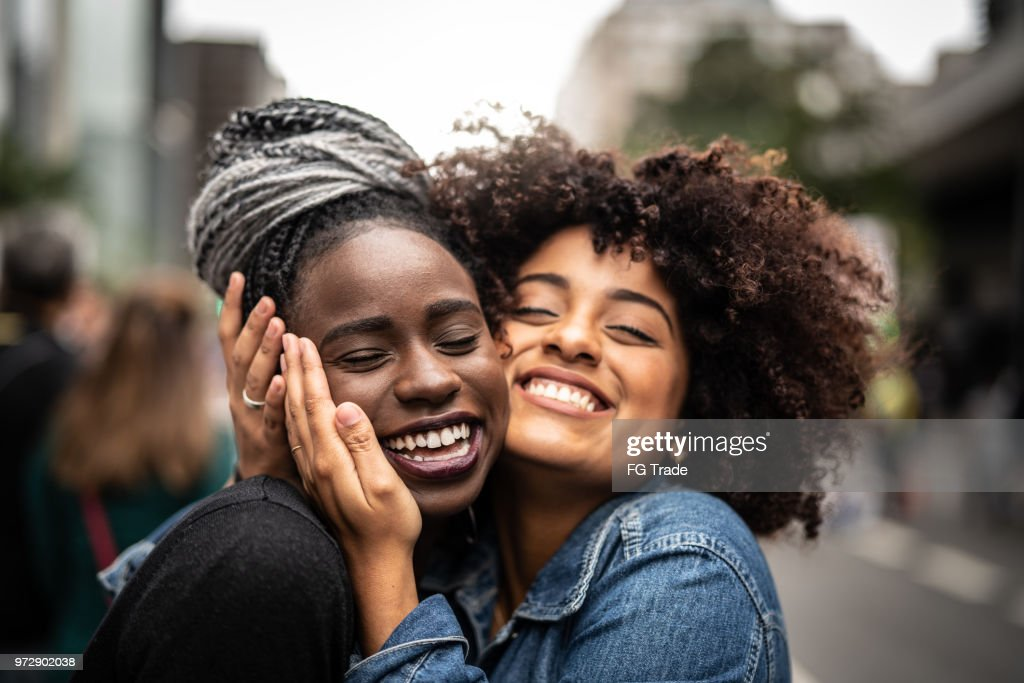 The Love of Best Friends : Stock Photo