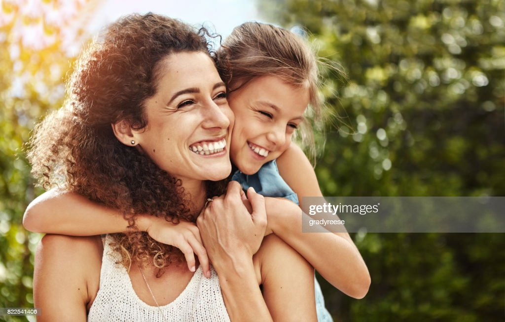 The love of family is life's greatest blessing : Stock Photo