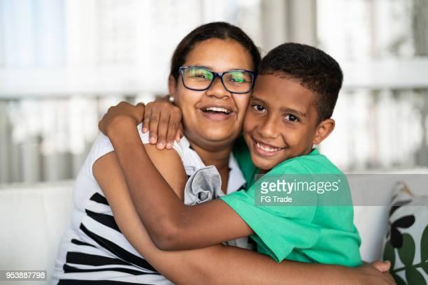 Die Liebe von Mutter und Sohn