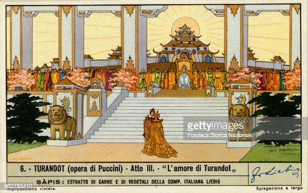 'The Love of Turandot' from the third Act of the opera by Giacomo Puccini on libretto by Giuseppe Adami e Renato Simoni. The Puccini opera was given...