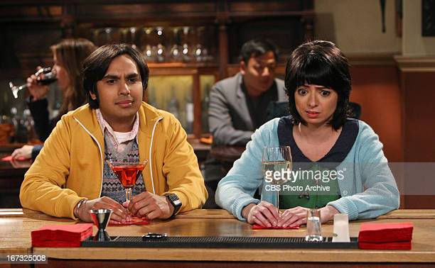 'The Love Spell Potential' Koothrappali and Lucy go on a very awkward date on THE BIG BANG THEORY Thursday May 9 on the CBS Television Network