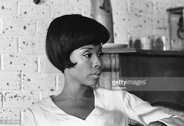 The lovely Diahann Carroll appears to have recently come to an understanding with herself Photograph 04/29/67