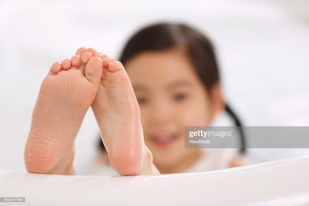 asian teen feet
