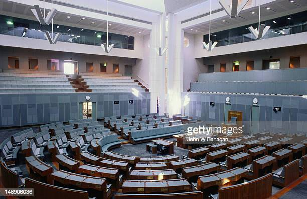 The lower house in Canberra's 'new' Parliament House