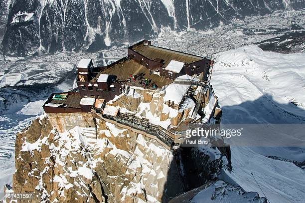 The Lower Platforms  from the Summit | Aiguille du