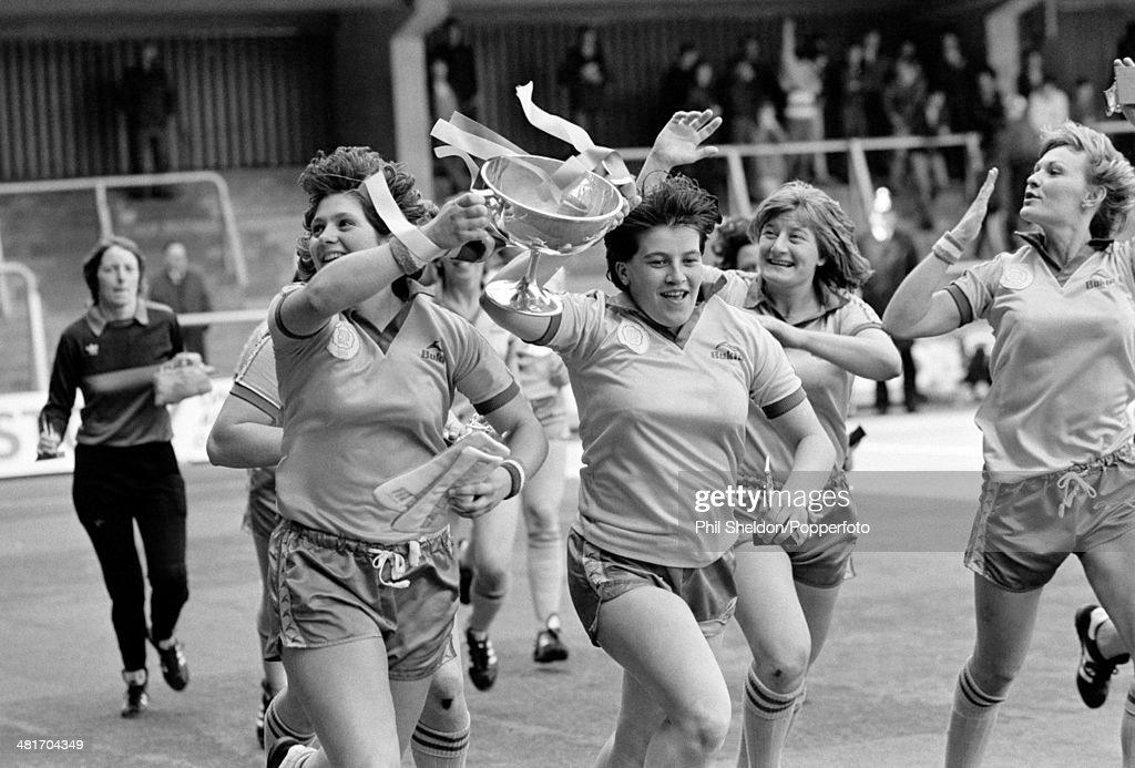 Women's FA Cup Final - Lowestoft v Cleveland : News Photo