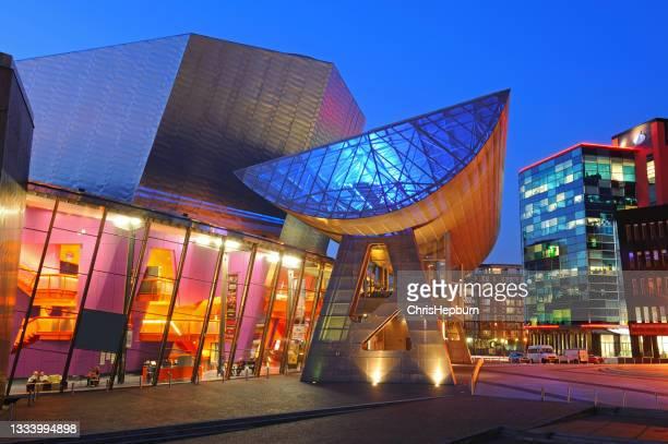 ローリー劇場、サルフォードキーズ、マンチェスター、イギリス、イギリス - サルフォードキー ストックフォトと画像