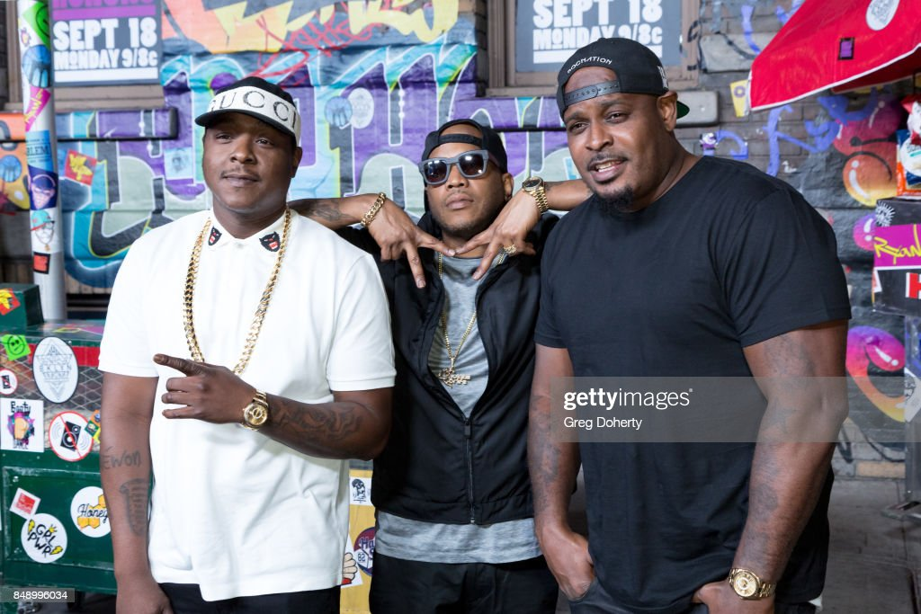 The Lox arrive for VH1's Hip Hop Honors: The 90's Game Changers at Paramount Studios on September 17, 2017 in Hollywood, California.
