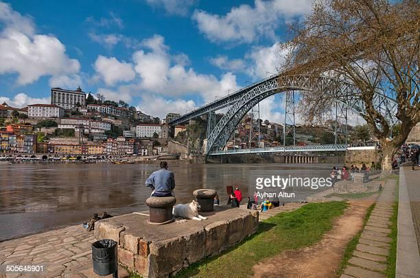 The Luis I Bridge on Douro river in Porto