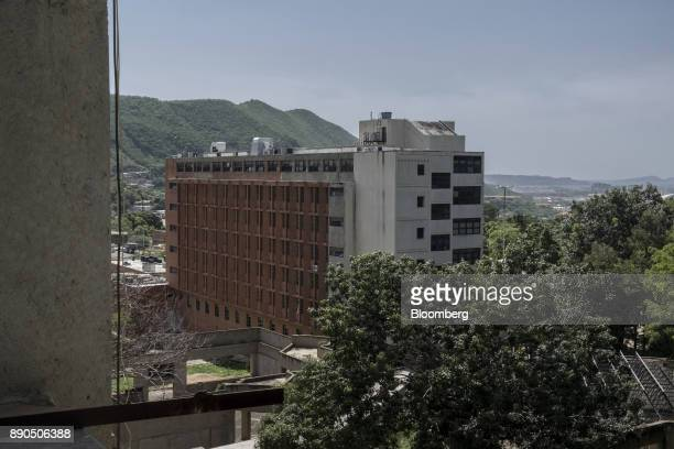 The Luis Razetti University Hospital stands in Barcelona Venezuela on Friday Aug 25 2017 The ruling party'slandslide victoryin municipal elections...