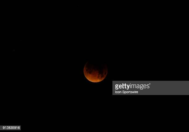 The lunar eclipse can be seen during the Super Blue Blood Moon Lunar Eclipse on January 31 2018 in Union City CA