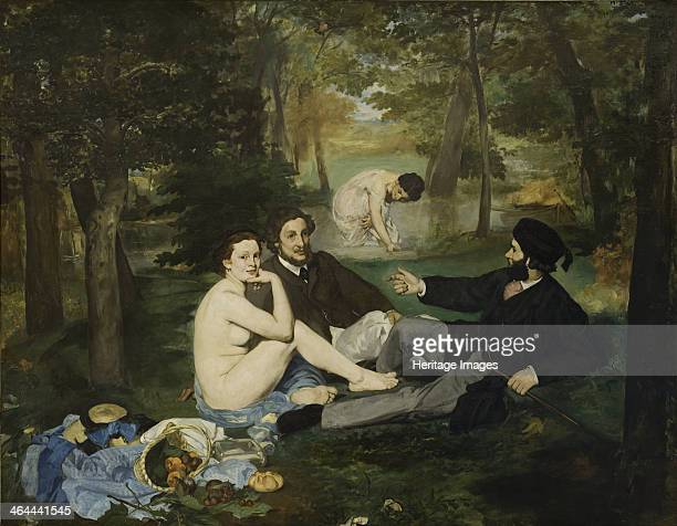 The Luncheon on the Grass 1863 Found in the collection of the Musée d'Orsay Paris