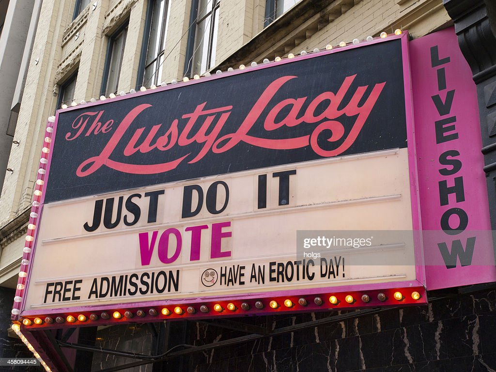 The Lusty Lady, Seattle : Stock Photo