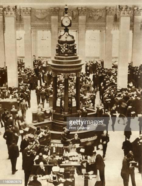 The Lutine Bell in the Underwriting Room at Lloyd's of London . The SS 'L'Atlantique' was insured by Lloyd's for almost £1 000. In 1933, the liner...