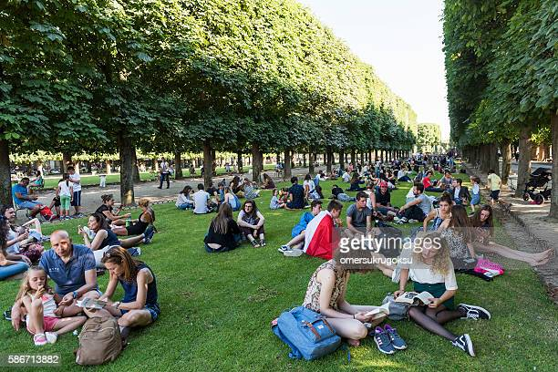 The Luxembourg Garden in Paris, France
