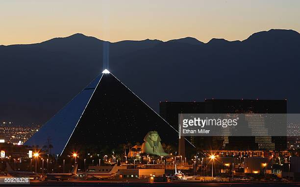 The Luxor Hotel and Casino is shown October 14 2005 in Las Vegas Nevada