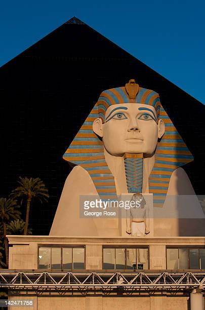 The Luxor Hotel Casino located at the south end of the Las Vegas Strip is seen on March 18 in Las Vegas Nevada Hit hard by a fouryear economic...
