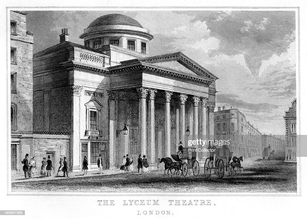 The Lyceum Theatre, Westminster, London. : News Photo
