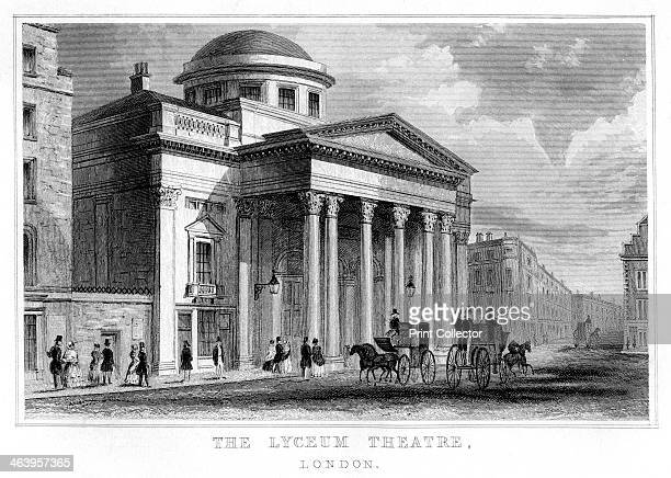 The Lyceum Theatre Westminster London The Lyceum Theatre with its grand Neoclassical portico was built in 1834 by Samuel Beazley