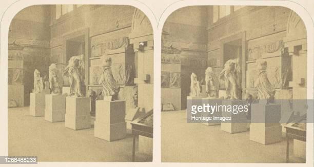 The Lycian Saloon, British Museum, 1850s. Artist Roger Fenton.