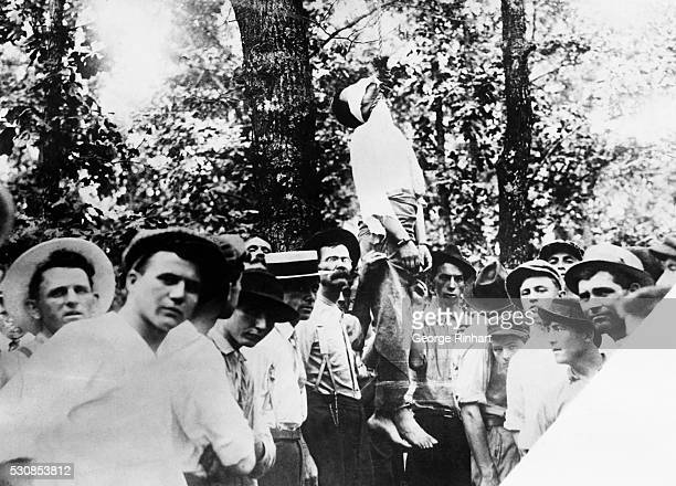 The lynching of Leo Frank who was accused of raping Mary Phagan an employee of his Georgia pencil factory and convicted on very little evidence in a...