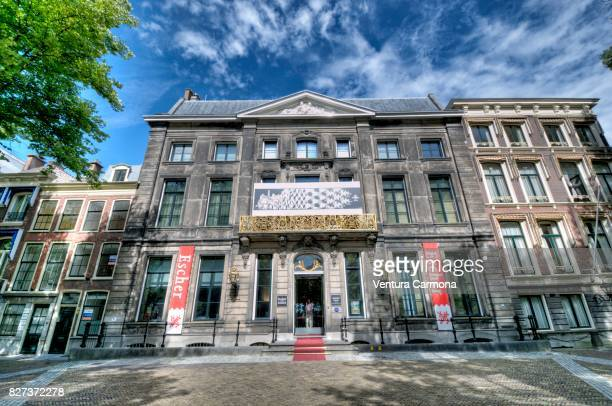 the m. c. escher museum in the hague, netherlands - the hague stock photos and pictures