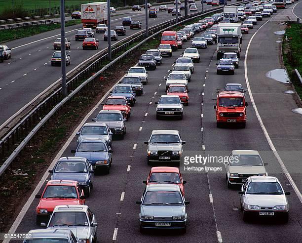 The M25 Motorway taken in 1991 Artist Unknown