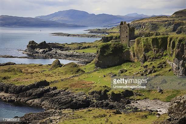 The MacDougall stronghold of Gylen Castle Isle of Kerrera Argyll Scotland United Kingdom