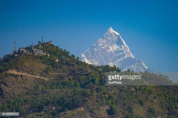 The Machapuchare mountain in Nepal in the Annapurna Himalayas region in Nepal It's nickname is Matternhorn of Nepal The name Machapuchare in Nepali...