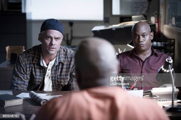 G 'The Mack' Episode 103 Pictured Josh Duhamel as Detective Greg Kading Bokeem Woodbine as Detective Daryn Dupree